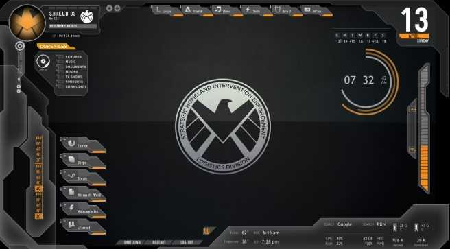 Best Rainmeter Theme - Shield