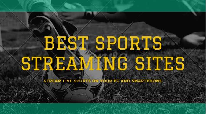 Top Free Sports Streaming Sites to Watch Sports Online in HD