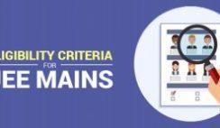 JEE Mains Exam Eligibility Details