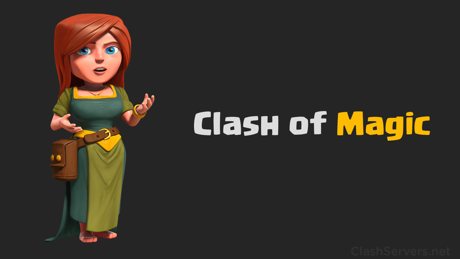 Clash of Magic Strategy Game