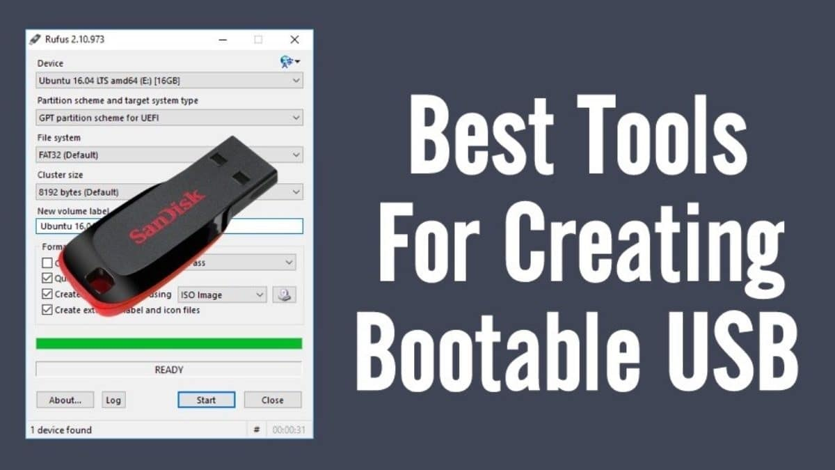 Best Bootable USB Maker Tools