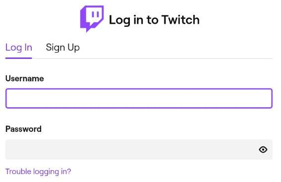 Twitch Login Fix